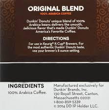 Mccafe Pumpkin Spice Keurig by Dunkin Donuts K Cups Original Flavor Medium Roast Box Of 12