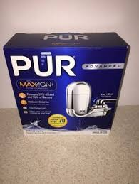 pur advanced faucet water filter chrome fm3700b ebay ebay