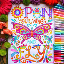 Art From Thaneeya McArdles Good Vibes Coloring Book Amazon