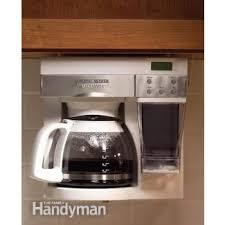 Under The Cabinet Coffee Maker