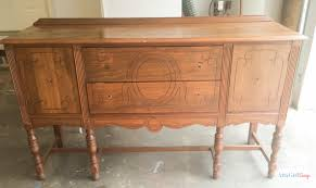 Buffet Makeover & Tips for Painting Furniture Black Atta Girl Says