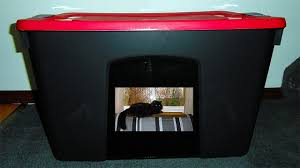 DIY Cat Litter Box Easily Made Cheap From A Tote Storage Container