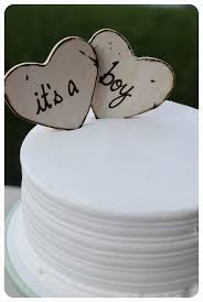 Baby Shower Cake Toppers For Rustic Natural Eco By PrinceWhitaker 1699