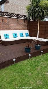 Terasa Din Paleti Wood Pallet Deck Ideas 8