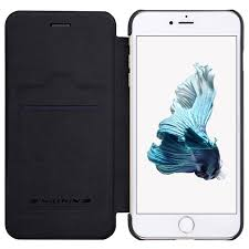 iPhone 7 Plus Nillkin Qin Flip Case Black
