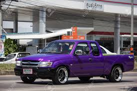 100 Toyota Hilux Truck Chiangmai Thailand September 28 2018 Private
