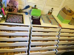 Sterilite Storage Cabinet Grow by Rubber Stamp Storage Ikea Really Awesome Idea But I Would Need