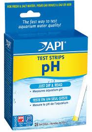 api ph test strips 25 strips included