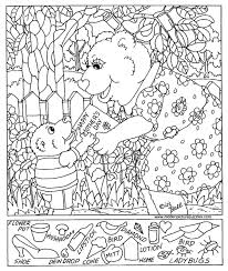 Coloring Pages Printable Mothers Day Free Hidden Pictures Worksheets Special Event Excellent Sample Template Downloadable