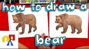 How To Draw A Grizzly Bear Realistic 3 Years Ago