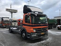 MERCEDES-BENZ Atego 1218 Day Cab Chassis Trucks For Sale, Chassis ...