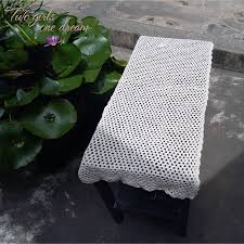 US $9.9 45% OFF|Hotel Dining Room Decorative Vintage Beige Table Runner  Handmade Cotton Crochet DIY Rectangle Table Covers Home Decoration Mats-in  ... Us 125 28 Offsunnyrain 1 Piece Cotton White Crochet Table Cloth Christmas Tablecloth For Ding Rectangle Crocheted Coffee Coverin Free Runner Or Pattern And Small Things Diy Ontrend Chair Socks 26 Creative Rug Patterns Allfreecrochetcom 62 The Funky Stitch Back Covers By Cara Medus Diagram Ja001 Annies Attic 1992 Crochet Romantic Ding Room Vol Ii Ebay Chair Cover Pattern Seat Sacks Pockets Ding China Lace Vintage Large Floral Cover Wedding