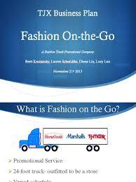 100 Fashion Truck Business Plan OnTheGo Final Presentation Mode Et Beaut