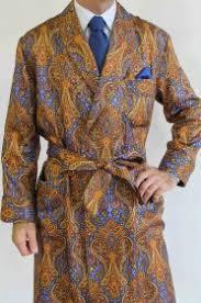 robe de chambre soie robe de chambre classique pour homme en 100 soie twill imprimee