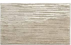 schöner wohnen kollektion badematte mauritius badezimmerteppich rutschfest und waschbar design streifen beige 60 x 100 cm