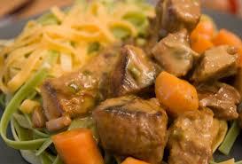cuisine d hiver mijoté de veau au cidre food for