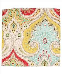 Echo Jaipur Bedding by Jaipur Napkin Set Of 4 Yellow Echo Design