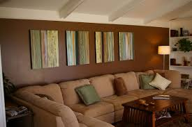 Brown Couch Living Room Ideas by Living Room Modern Home Living Room With Brown Wall Combined