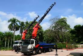 100 Truck Mounted Cranes Handover Of The 2 Largest PALFINGER Loader In