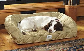 dog beds deep dish dog bed with memory foam orvis