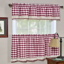 White Cotton Kitchen Curtains by Curtain Tiers For Less Overstock Com