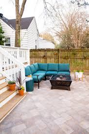 100 House Patio Adding A DIY Paver To The Backyard Live Free Creative Co