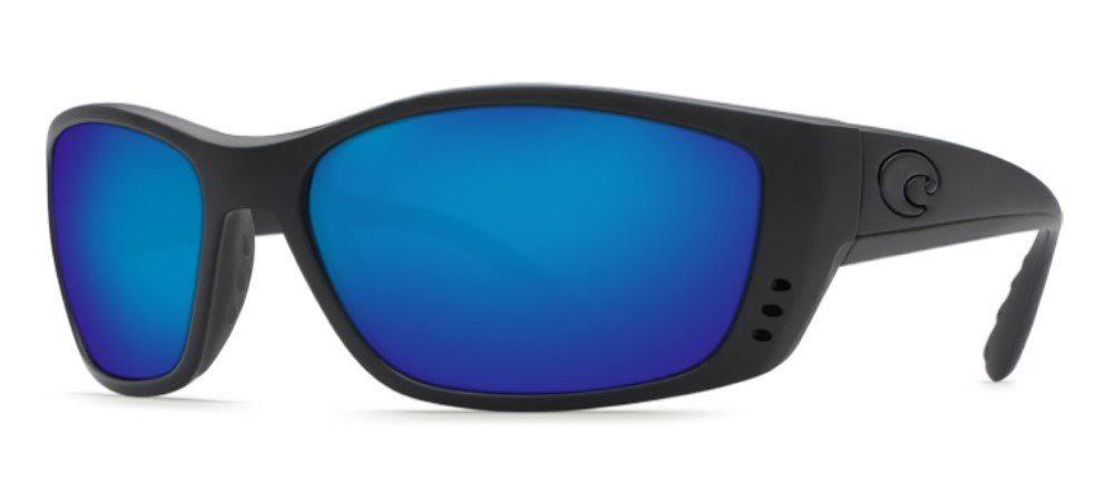 Costa Del Mar Fisch C-Mate Black Sunglasses Blue Lens 580P 1.5