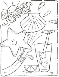 Summer Coloring Sheet Pdf Fresh Colorings Book Design Ideas Pages Printables