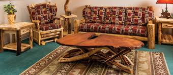 Rustic Log Inside Style Furniture Designs 18