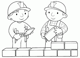 Bob The Builder Coloring Pages Easter