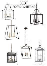 Best Foyer Lanterns For A Modern American Farhmhouse Home with Keki