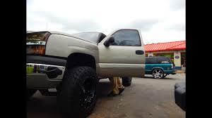 Lifted Chevy Silverado On 35