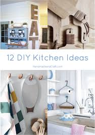 12 DIY Kitchen Ideas l Creative and so easy HandmadeandCraft thumb