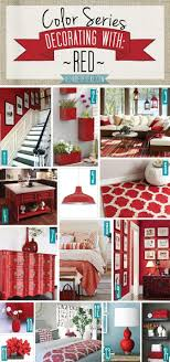 Color Series Decorating With Red Living Room DecorRed Bedroom RoomsRed Home DecorHome Decor ColorsModern Kitchen