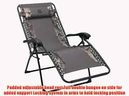 living accents oversized zero anti gravity camo relaxer chair