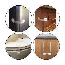 Childproof Cabinet Locks No Screws by Child Safety Locks Multiple Use Adjustable Locks With 3m Adhesive