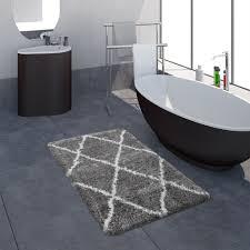 badematte badezimmer shaggy hochflor einfarbig real de