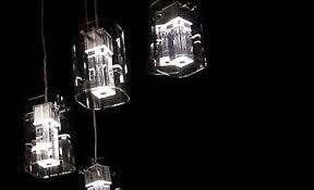 deckenleuchte hängele wohnzimmer pendelleuchte led rgb halogen chrom glas