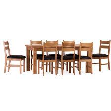 essgruppe rebekah mit 8 stühlen sommerallee
