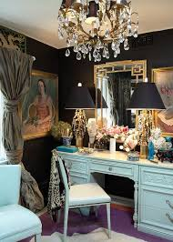 vanity set with lights for bedroom with luxury classic