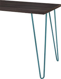 Target Corner Desk Espresso by Amazon Com Altra Owen Retro Desk Espresso Teal Kitchen U0026 Dining