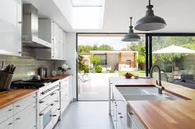 Though Galley Kitchens Work Best In Small Spaces They Can Also Be Good For Medium Sized Such As The One Pictured Here However Aware That If