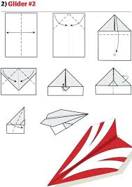 Fold Paper Airplanes Origami Step By Best Iris Folding And