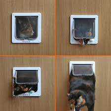 Doggie Door For Patio Door Canada by Petsn U0027all 4 Way Locking Indoor Outdoor Pet Door Kit For Cat And
