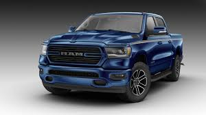 100 Patriot Truck 2019 Ram 1500 Looks Boss All Mopard Out In Blue Carscoops