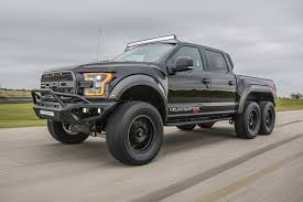 Hennessey's Crazy 6-Wheel Raptor Is Heading To Production ... 2017 Velociraptor 600 Twin Turbo Ford Raptor Truck Youtube First Retail 2018 Hennessey Performance John Gives Us The Ldown On 6x6 Mental Invades Sema Offroadcom Blog Unveils 66 Talks About The Unveils 350k Heading To 600hp F150 Will Eat Your Puny 2014 For Sale Classiccarscom Watch Two 6x6s Completely Own Road Drive