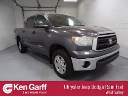 Pre-Owned 2011 Toyota Tundra 4WD Truck Grade Crew Cab Pickup In WEST ...