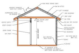 8 12 hip roof shed plans blueprints for cabana style shed