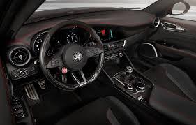 2017 Alfa Romeo Giulia Quadrifoglio interior 03 2048—1304