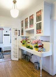 Cabinets And A Massive Double Drainboard Sink Dating To The 1920s Are Focal Point Country KitchensHome KitchensFarmhouse